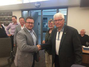 Partnership with the city of Altona