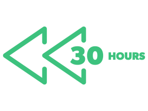 30 hours of catch up TV